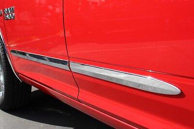 "2005-2014 Dodge Dakota (Crew-Cab) Chrome Body Side Molding - 2"" Width"