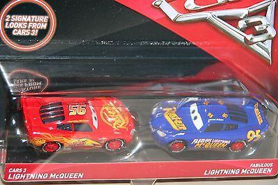 "DISNEY PIXAR CARS 3 2-PACK ""LIGHTNING McQUEEN & FABULOUS LIGHTNING McQUEEN"""