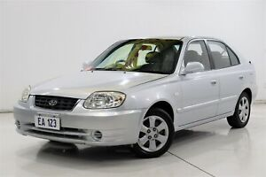 2005 Hyundai Accent LC MY04 GL Silver 4 Speed Automatic Hatchback Brooklyn Brimbank Area Preview