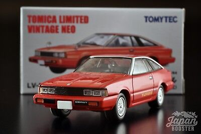 [TOMICA LIMITED VINTAGE NEO LV-N154a 1/64] NISSAN GAZELLE HATCHBACK TURBO XE Red