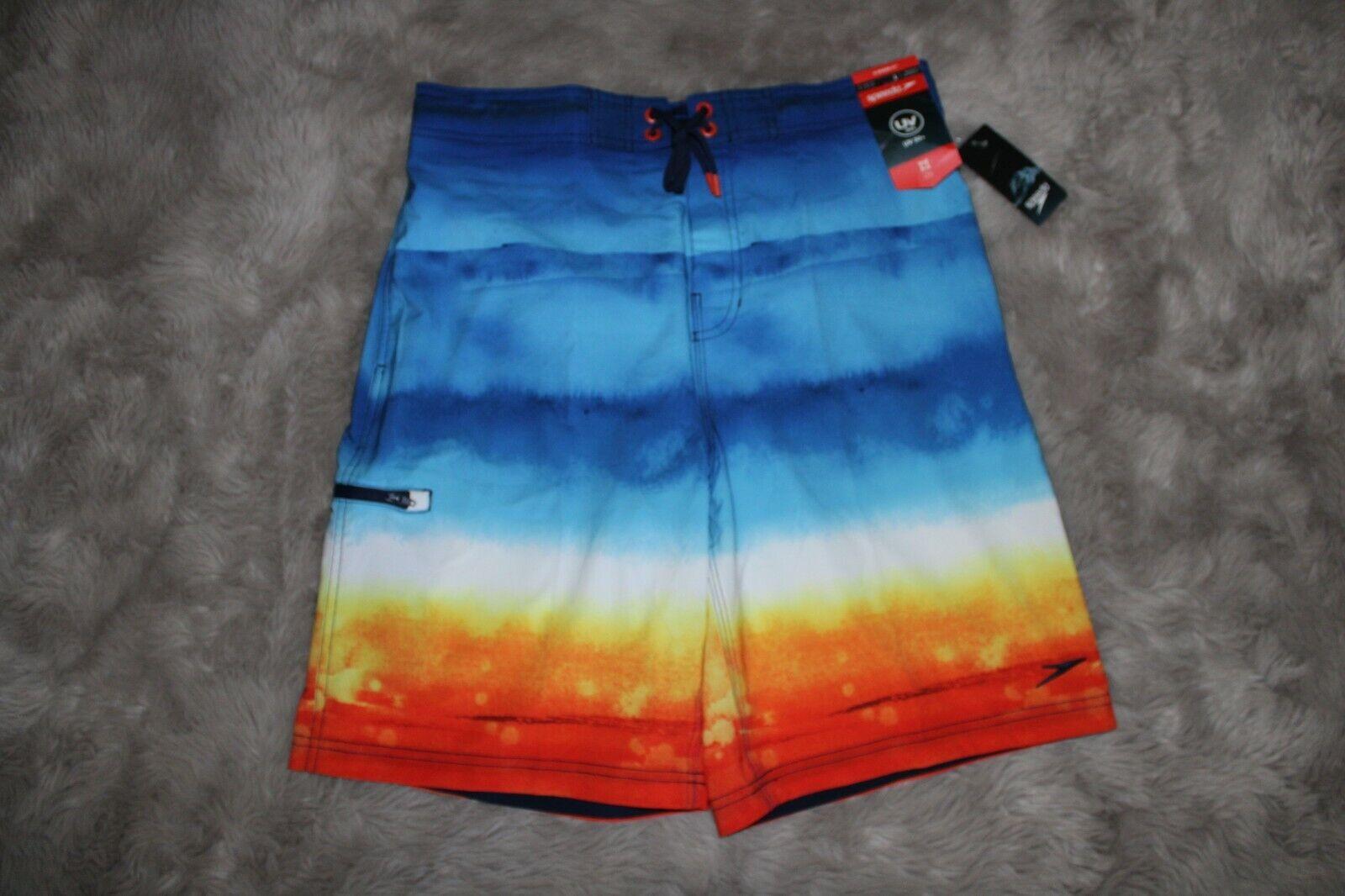 Speedo Board Shorts Men NEW UV 50+ Size X-Large  msrp $59