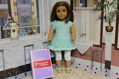 "American Girl ""Spring Breeze Dress Outfit"" - COMPLETE - NIB"