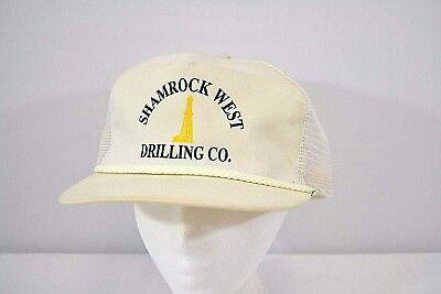 Shamrock West Drilling Co Ivory Baseball Cap Snap Back