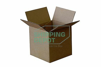 25 4x4x4 Cardboard Shipping Mailing Moving Packing Corrugated Boxes Cartons