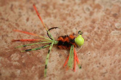 1/64oz Micro Gypsy Bug ( 4 PK ) custom hand tied panfish jigs Bream Drops ](Gypsy Custome)