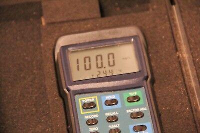 Working Extech Instruments 407510 Dissolved Oxygen Meter- No Probe