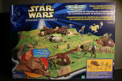 Micro Machines (1999) Star Wars Episode I Trade Federation MTT - Naboo Battlefie