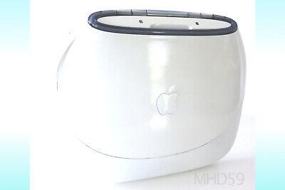"Apple iBook Clamshell G3  ""WHITE"" 16 GB SSD . Dual OS9 + X UNIQUE ⭐️⭐️⭐️⭐️⭐"