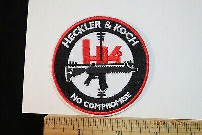 HK Heckler /& Koch Iron On Stoffaufnäher