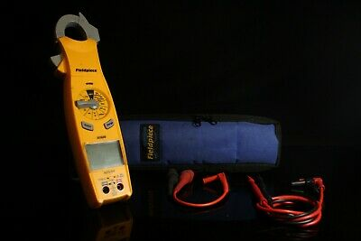 Fieldpiece Sc620 Loaded Clamp Multimeter W Carrying Case And Leads