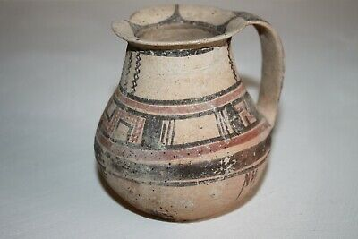 RARE ANCIENT GREEK POTTERY DAUNIAN OLPE 6th CENTURY BC