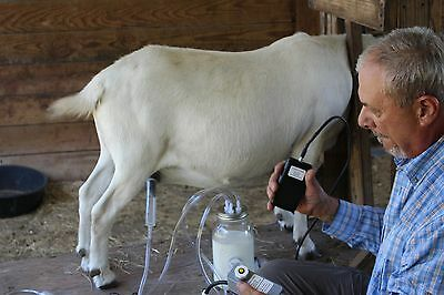 Dansha Farms™ Goat Sheep Cow Milk Machine Rechargeable Pac 1 Quart Two Teat