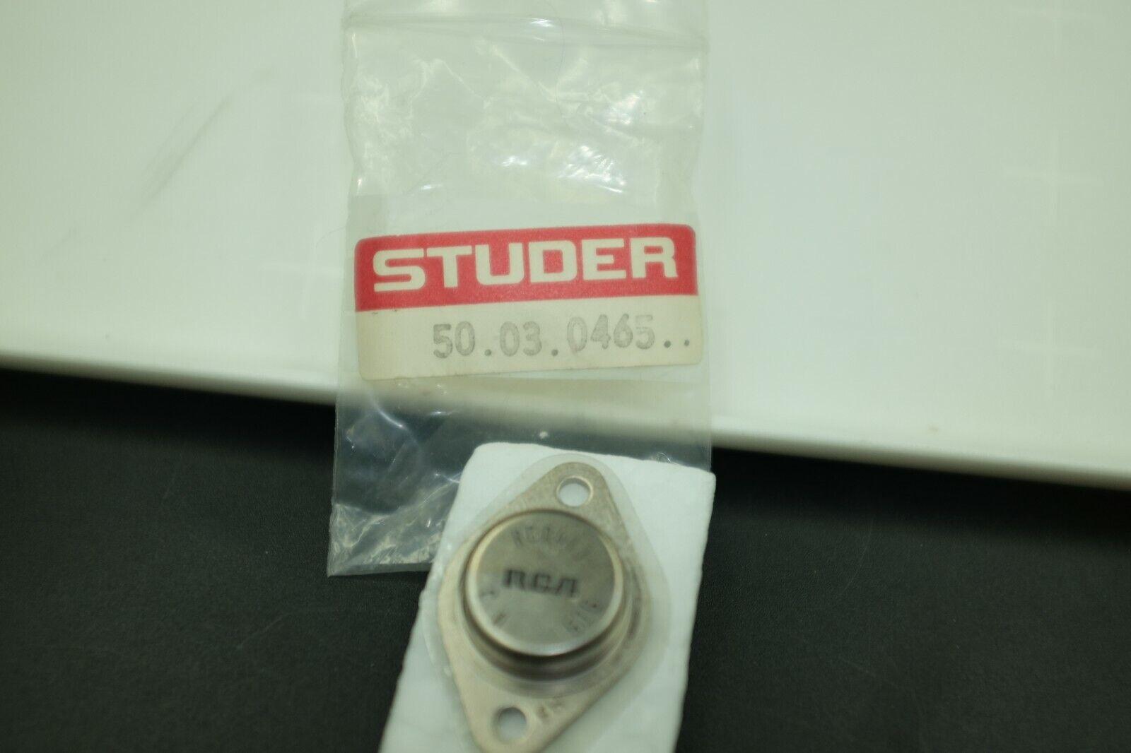 STUDER 50.03.0465.. ORIGINAL PART TRANSISTOR MJ-15024 A80 A800 NOS / NEW RARE