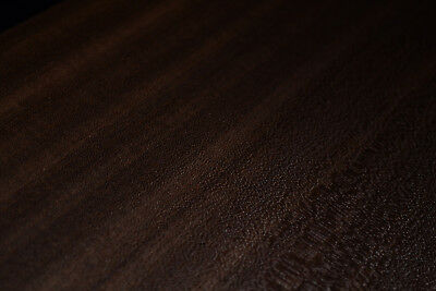 Sapele Ribbon Stripe Wood Veneer Sheets 7.5 X 38 Inches   4712-5