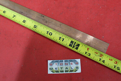 18 X 34 C110 Copper Bar 14 Long Solid Flat Mill Bus Bar Stock H02 99.9 Cu