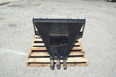 Skid Steer Heavy Duty Stump Bucket Saw Teeth Made In The Usa Fits All