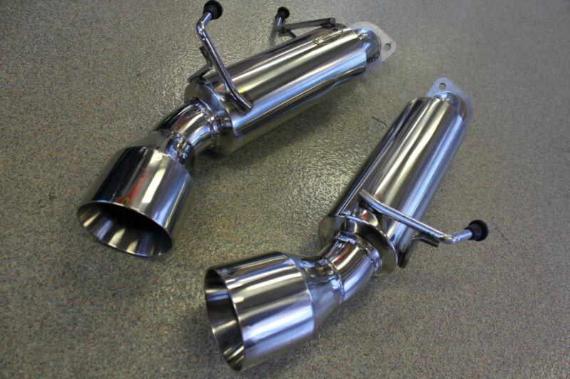 """Beluga Racing For Nissan 370z 09-17 3.7l Performace Axle Back Exhaust 4.5"""" Tips"""
