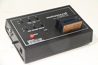 MetaSound System MS-1800 PromoCast Pro Digital Audio Marketing Player w/ Memory