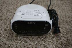 Sony Dream Machine Clock Radio - Black (ICFC318)