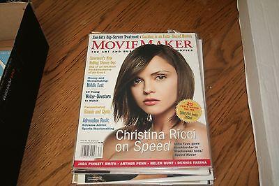 Movie Maker Magazine Spring 2008 Christina Ricci     Plus