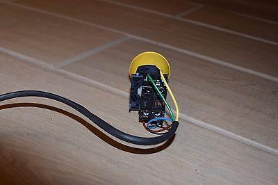Sprecher & Schuh D7-N3Y Power Module Integral Yellow LED Push Button D7-X01