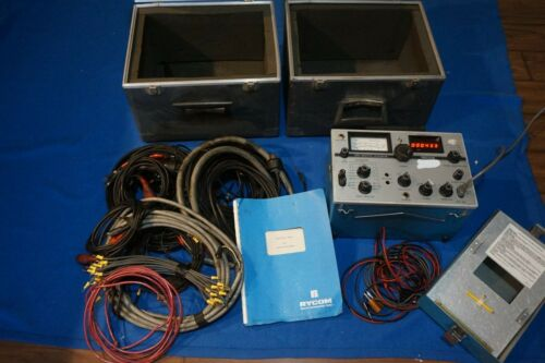 Rycom 6010 Selective Lelelmeter Level Meter Cables Manual Boxes