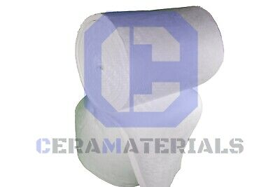 Ceramic Fiber Blanket 2300f 8 High Temp Thermal Insulation Kaowool 1x24x12.5