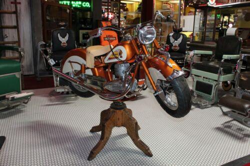 Custom Lenaerts Indian Motorcycle Carnival Ride Rotating Barber Chair
