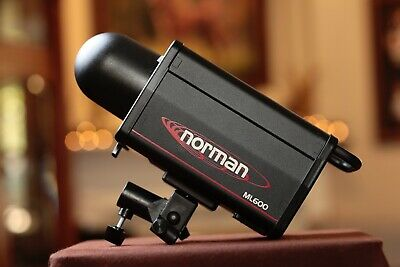 Norman ML600 Studio Lighting, Strobe, Moonlight, 600WS, Excellent (Norman Studio)
