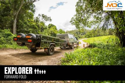 2018 MDC EXPLORER FORWARD FOLD CAMPER Edge Hill Cairns City Preview