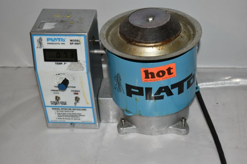 ^^ PLATO PRODUCTS INC SOLDER POT MODEL SP-500T (MG66)