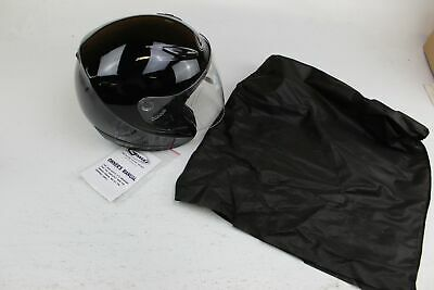 GMAX GM17S SPC OPEN FACE HELMET BLACK SIZE XS PART # 72-4800XS *
