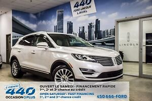 2016 Lincoln MKC RESERVE | 2.0L AWD CUIR TOIT OUVRANT NAVIGATION