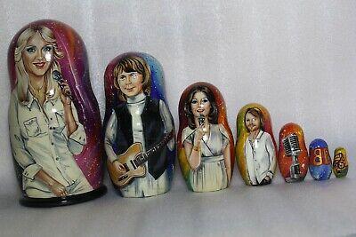 Exclusive 7 in 1 Russia Russian nesting dolls Matryoshka - ABBA