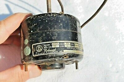 Redmond Company Model 3553 115vac Small Electric Motor 170hp 1550rpm Working