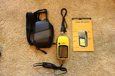 Garmin eTrex Venture HC Handheld / Outdoors GPS  Color Screen
