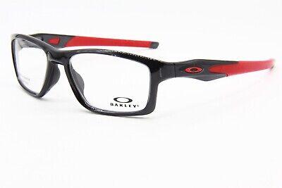 NEW OAKLEY OX 8090-0355 BLACK AUTHENTIC EYEGLASSES FRAME OX8090 RX 55-17