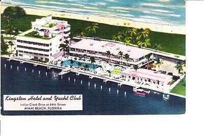 Miami Beach, FL   Kingston Hotel & Yacht Club 1940s