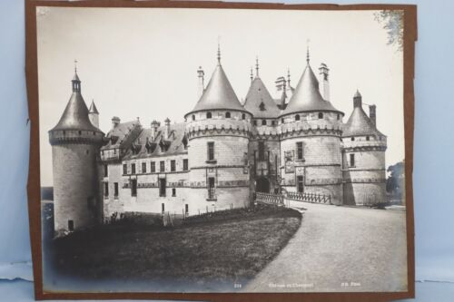 Antique Photo France Chateau of Chaumont Catherine De Medici  Henry II