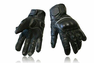 Best Summer Motorcycle Motorbike Gloves Warm Winter Leather Knuckle