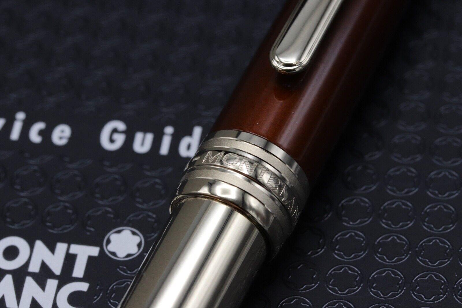 Montblanc Meisterstuck 164 Classique Solitaire Citrine Ballpoint Pen 2