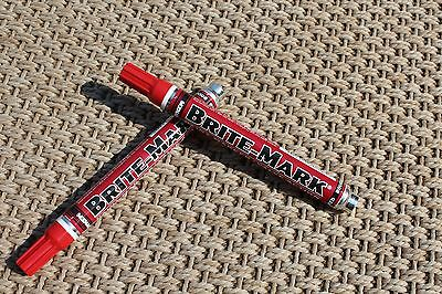 Dykem Brite Mark 2pk Industrial and All  Purpose Paint Markers (RED)