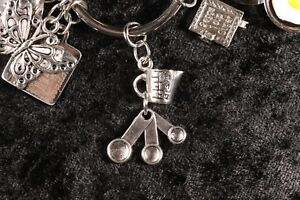 Measuring and Counting? Cup & Spoon Weight Loss Charm for Weight Watchers Ring