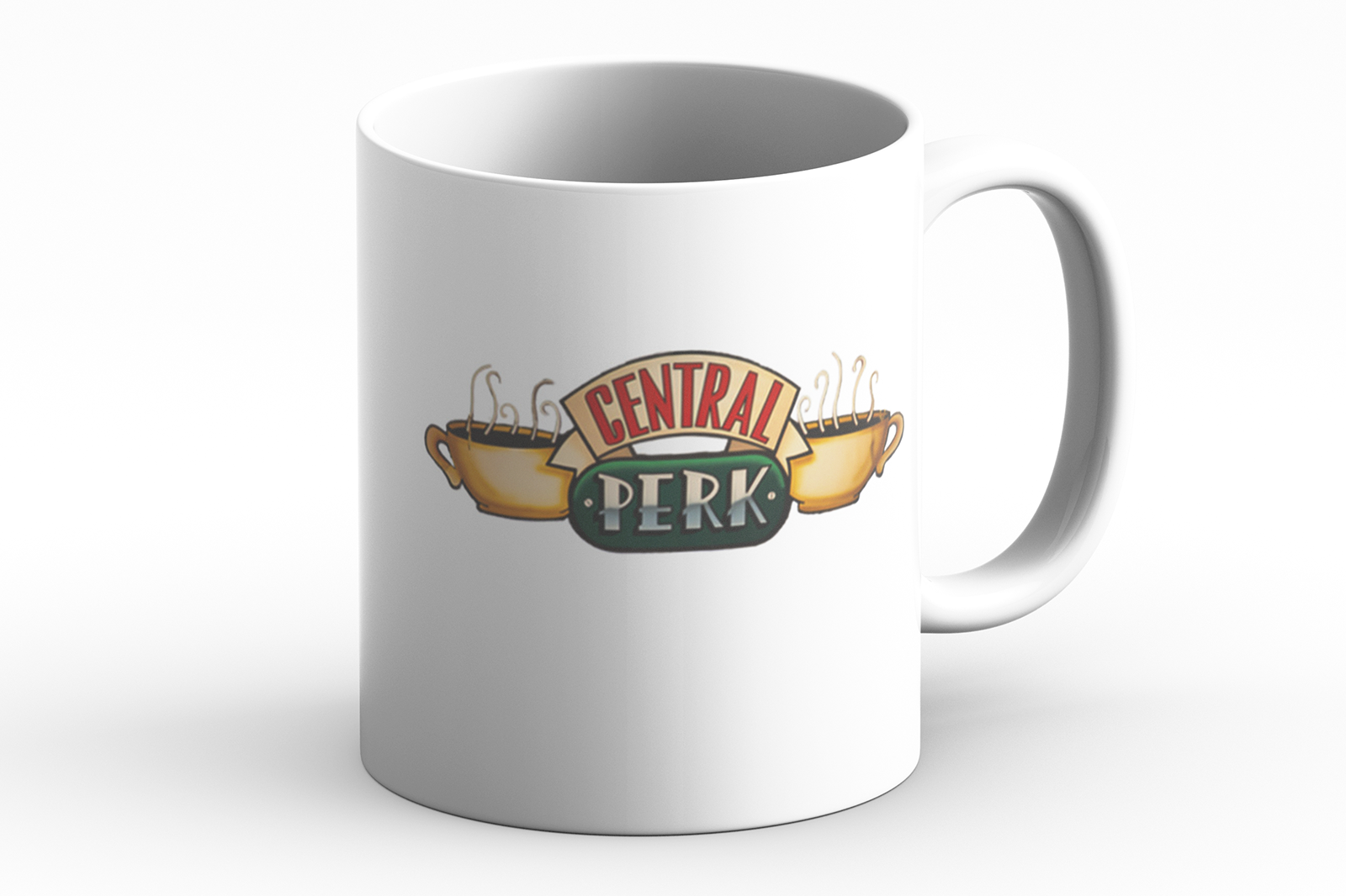 Central Perk Mug From Friends Funny Gift Idea for Christmas
