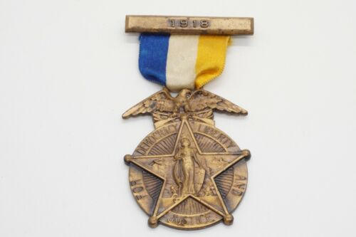 WWI 1918 Rochester, New York Victory NAMED Medal GREAT SHAPE
