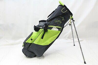 4f0f8dfaa28 New Callaway Golf Hyper-Lite HL Zero Stand Carry bag - Titanium Neon Yellow
