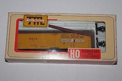 HO Scale Train Miniature 8106 Meyer Kornblum Beef 40'  KC to NY Reefer Kit 115