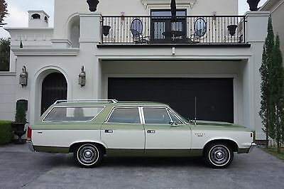 1969 Amc Other Sst 1969 Rebel Sst Wagon  343 V8  24K Miles  1 Owner Original Title