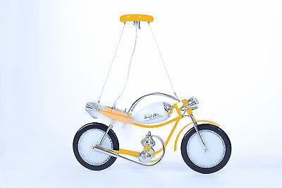 Kinderlampe Kinderleuchte Deckenlampe Kinderzimmer Lampe Motorrad Gelb mit LED