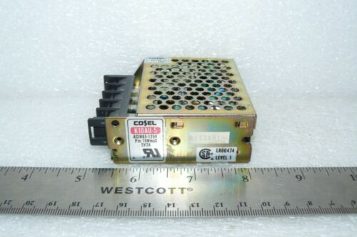 COSEL K10AU-5 POWER SUPPLY ACIN85-125V PIN:16W MAX 5V 2A